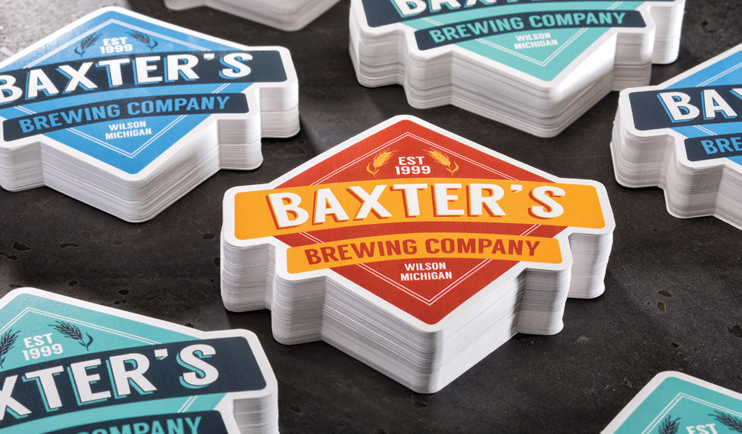 Brewery DieCut Label - Denton Printing Corporation